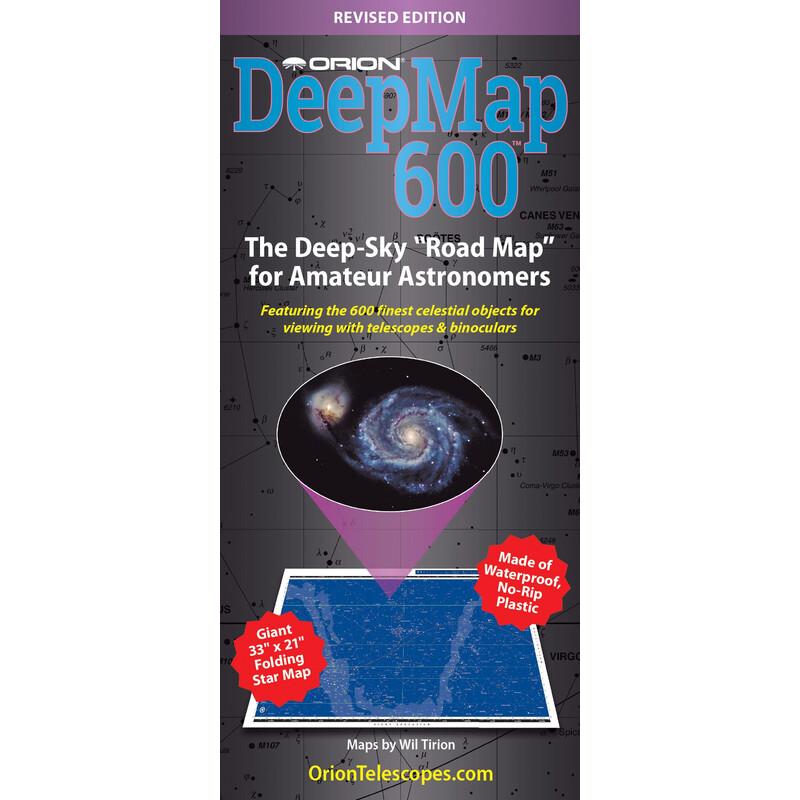 Orion Poster Deep Map 600, Faltkarte on